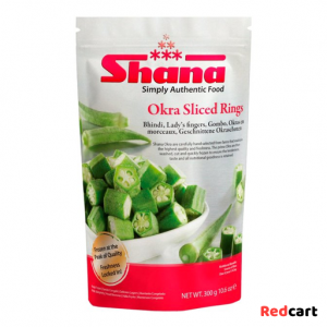 Okra Sliced Ring 300g