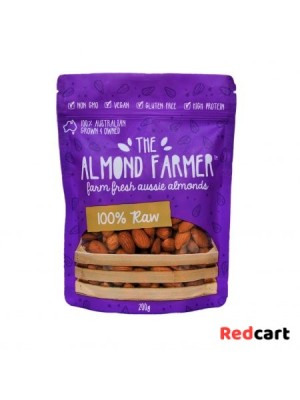 100% Raw Almonds - 200g