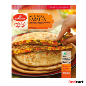 Haldiram's Mixed Vegetable Paratha 400g-Frozen